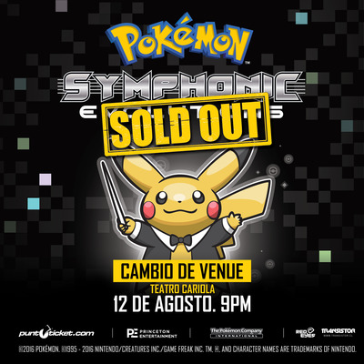 Pokémon Symphonic Evolutions en Chile 2016.08.12