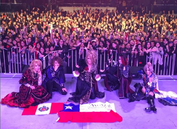 Versailles 10 th Anniversary tour en Chile 2017
