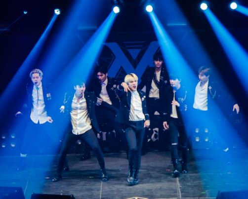 The first world tour Monsta X beautiful santiago
