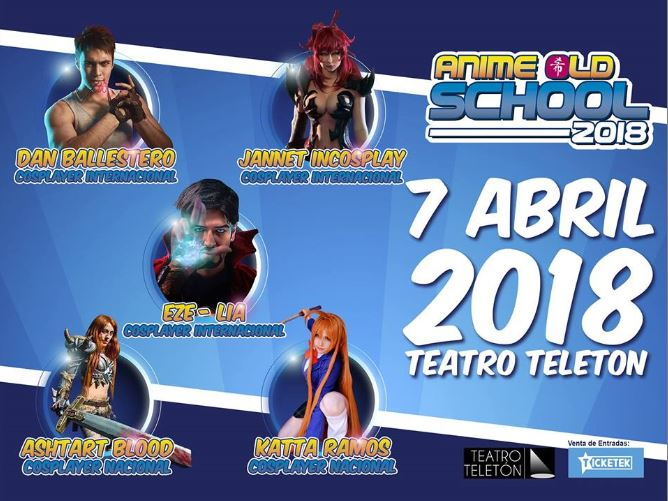 ANIME OLD SCHOOL 2018
