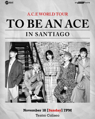 A.C.E WORLD TOUR [TO BE AN ACE]